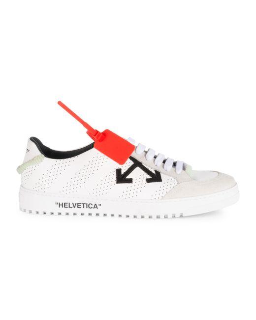 1d473788b084a Off-White c o Virgil Abloh Men s 2.0 Low Sneakers - White - Size 46 ...