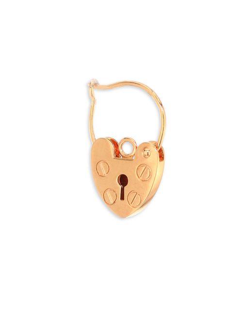 Ginette NY - Metallic Providence 18k Rose Gold Single Earring - Lyst