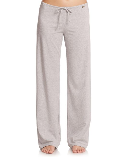La Perla - Gray New Project Drawstring Pants - Lyst