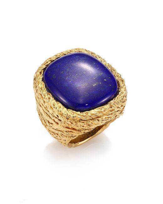 Aurelie Bidermann | Multicolor Miki Lapis Lazuli Ring | Lyst
