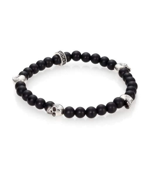 King Baby Studio | Black Onyx Beaded Bracelet for Men | Lyst