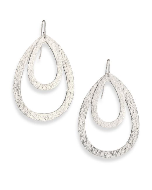 Stephanie Kantis - Metallic Paris Double Teardrop Earrings - Lyst
