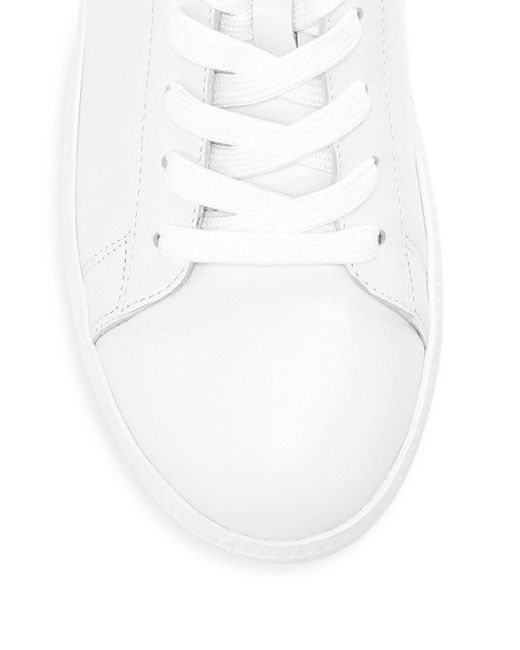 7c72498abb30 Lyst - Ash Cult Leather Platform Sneakers in White - Save 45%