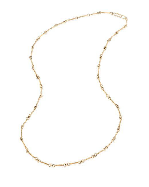 Aurelie Bidermann | Metallic 18k Yellow Gold Twisted Chain Necklace/29 | Lyst