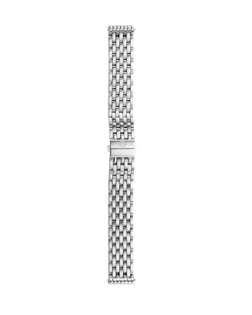 Michele Watches   Metallic Deco 16 Stainless Steel Seven-link Watch Bracelet   Lyst