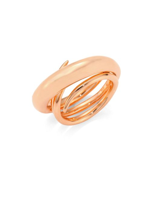Charlotte Chesnais | Metallic Hurly Burly Ring/goldtone | Lyst