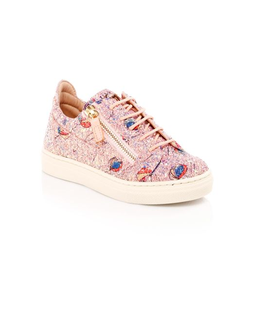 e225a8c6b7a55 Giuseppe Zanotti Kid's Balloons Low-top Sneakers in Pink - Lyst