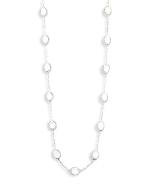 Ippolita - Metallic 925 Glamazon Pebble Station Necklace - Lyst