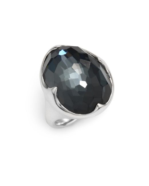 Ippolita | Metallic 925 Rock Candy Hematite Ring | Lyst