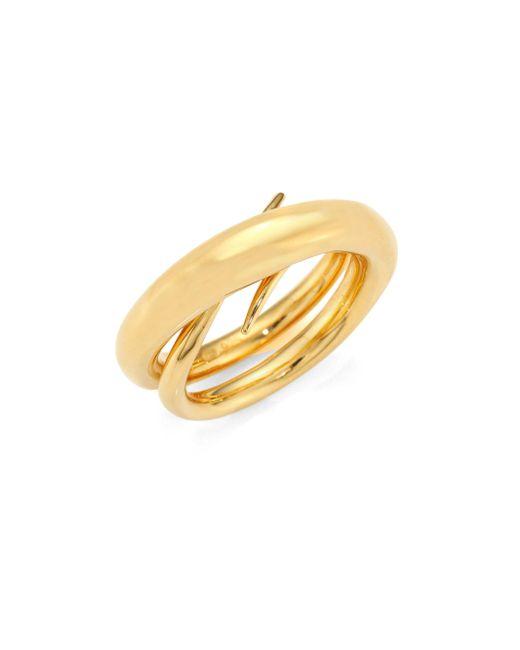 Charlotte Chesnais | Metallic Unchained Ring/goldtone 0.75 | Lyst