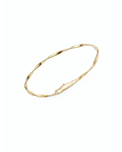 Marco Bicego | Metallic Marrakech 18k Yellow Gold Bracelet | Lyst