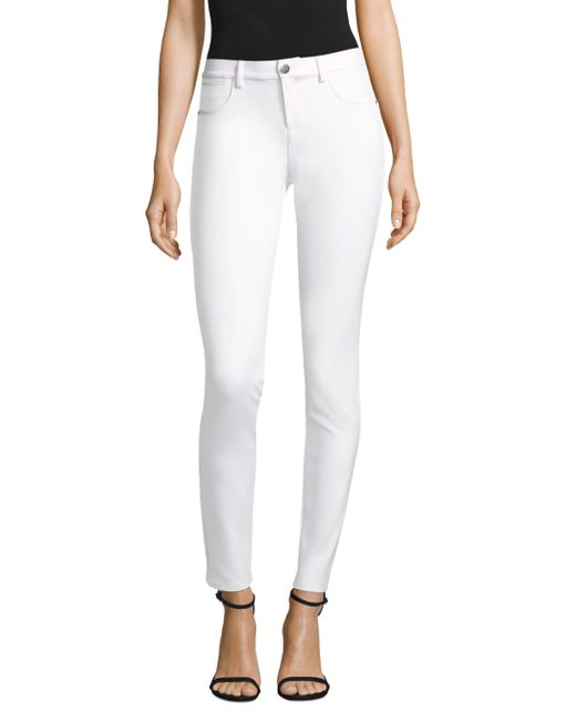 Lafayette 148 New York - White Acclaimed Stretch Mercer Pant - Lyst