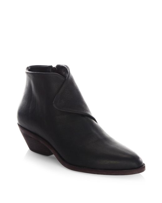 LD Tuttle | Black The Spectre Leather Booties | Lyst