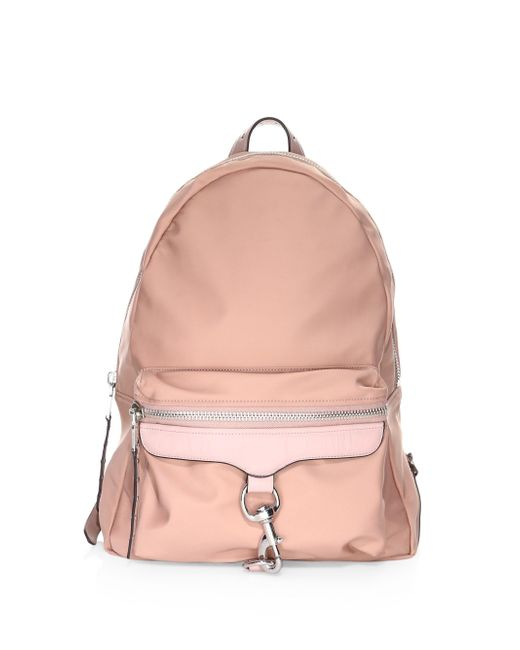 Rebecca Minkoff - Pink Tech To Go Mab Backpack - Lyst