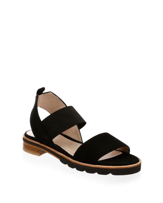 Stuart Weitzman - Black Topical Strappy Sandals - Lyst