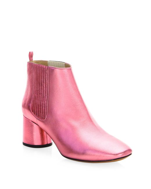 Marc Jacobs - Metallic Pink Rocket Chelsea Boot - Lyst