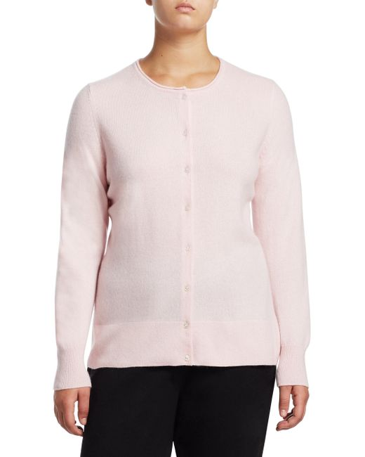 Saks Fifth Avenue | Pink Collection Cashmere Knitted Sweater | Lyst