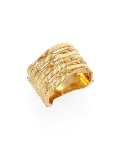 Marco Bicego - Metallic Marrakech 18k Yellow Gold Seven-strand Ring - Lyst