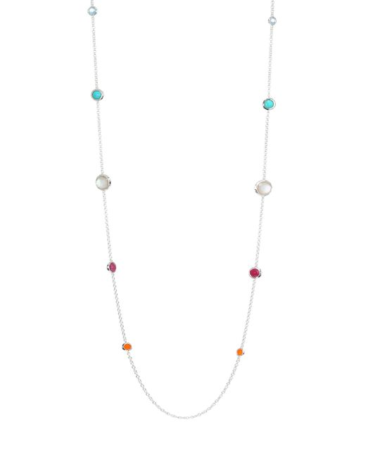 Ippolita - Metallic Rock Candy Graduated Lollipop Station Necklace - Lyst