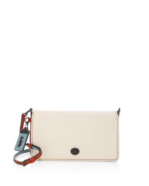 COACH - Multicolor Dinky Leather Crossbody Bag - Lyst
