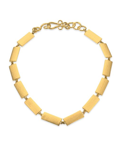 Stephanie Kantis | Metallic Textile Necklace | Lyst