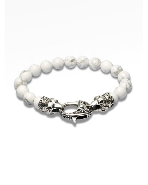 Stephen Webster | White Coral Beaded Bracelet | Lyst