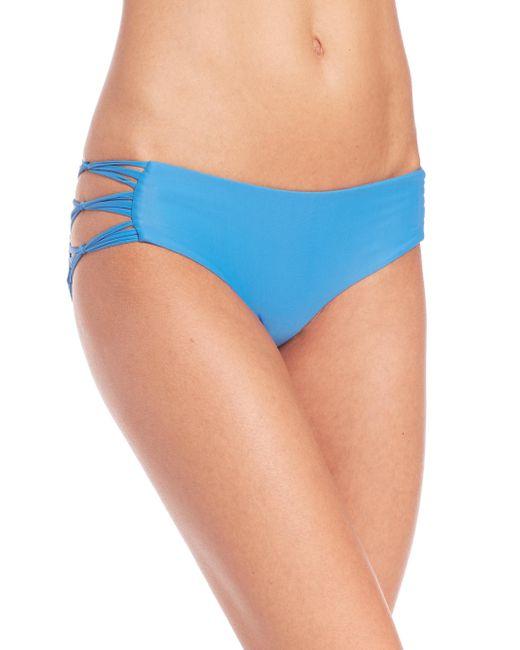 Mikoh Swimwear - Blue Skinny String Bikini Bottom - Lyst
