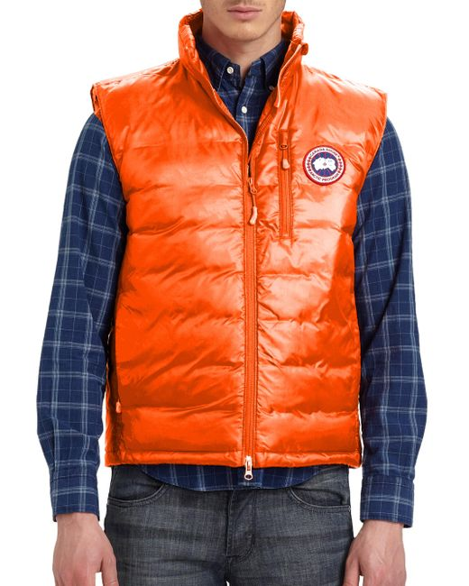 Canada Goose | Orange Lodge Vest for Men | Lyst