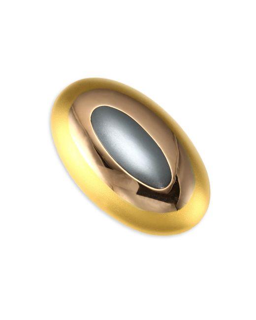 Stephanie Kantis - Metallic Tri-tone Gold Dome Ring - Lyst