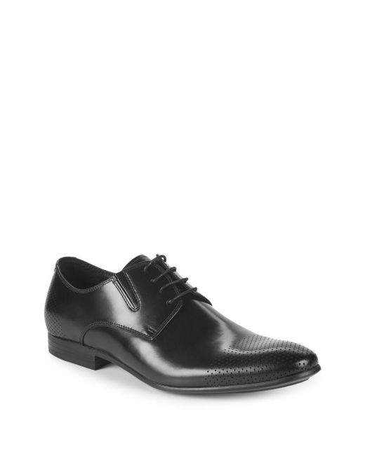 Kenneth Cole - Black Perforated Dress Shoes for Men - Lyst