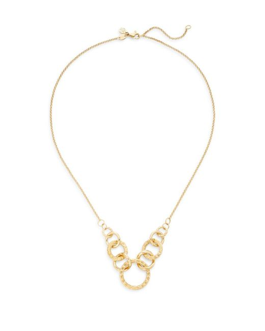 John Hardy | Metallic Classic Chain 18k Yellow Gold Circle Link Necklace | Lyst