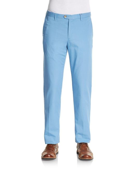 Ben Sherman | Blue Chino Trousers for Men | Lyst