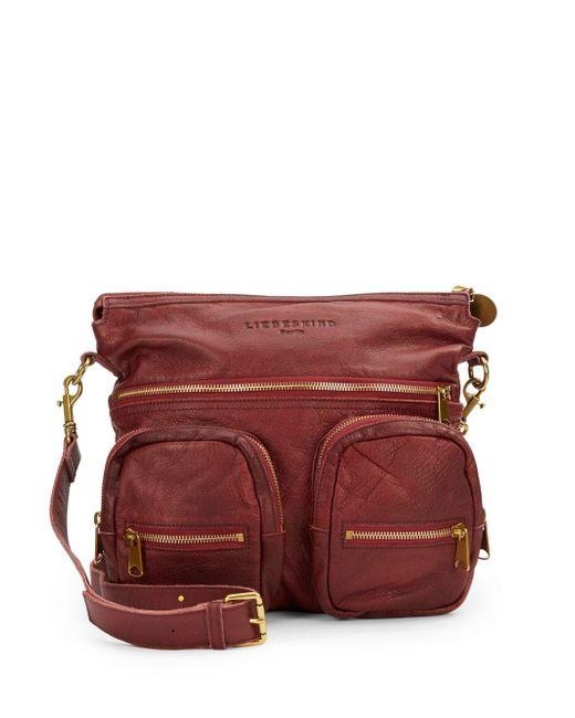 Liebeskind | Red Anny Safari Shoulder Bag | Lyst
