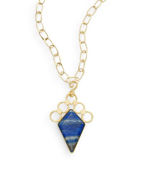 Stephanie Kantis | Blue Aurora Lapis Pendant | Lyst