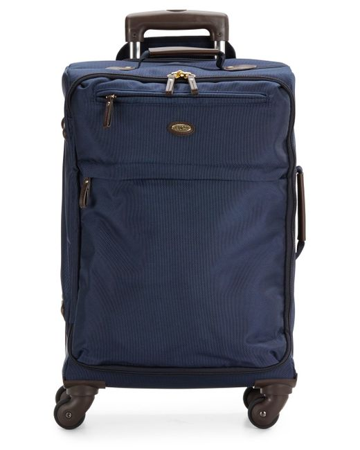 """Bric's   Blue 21"""" Carry-on Spinner Suitcase for Men   Lyst"""