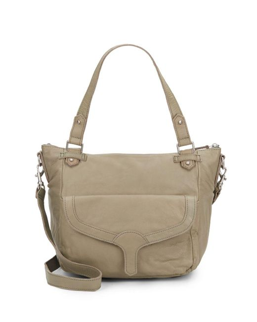 Liebeskind | Natural Coco B Leather Satchel | Lyst