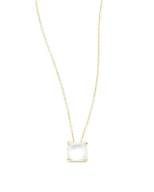 Ippolita | Metallic Rock Candy Mother-of-pearl, Quartz & 18k Yellow Gold Pendant Necklace | Lyst