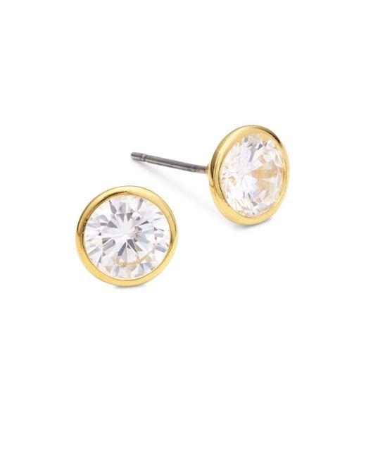 Saks Fifth Avenue | Metallic Martini Stud Earrings | Lyst