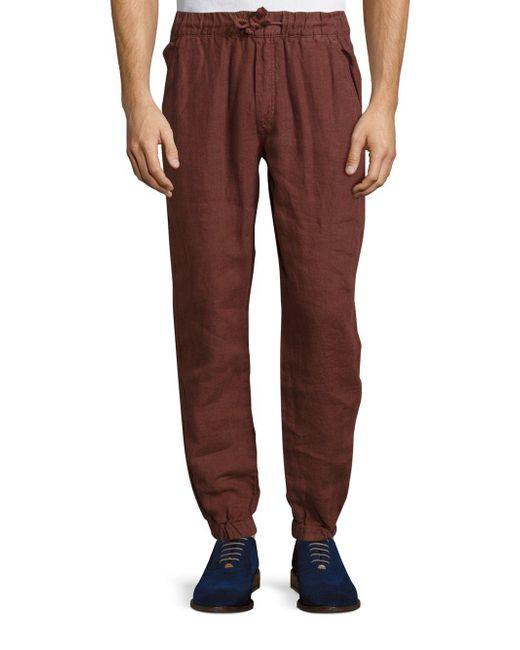 Original Paperbacks | Multicolor Catalina Elastic Cuff Linen Jogger Pants for Men | Lyst