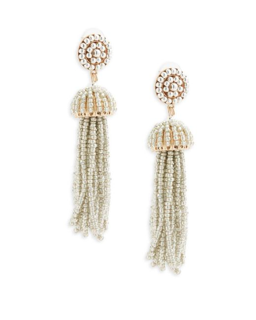 Gemma Simone | Metallic Sea Bead Drop Earrings | Lyst