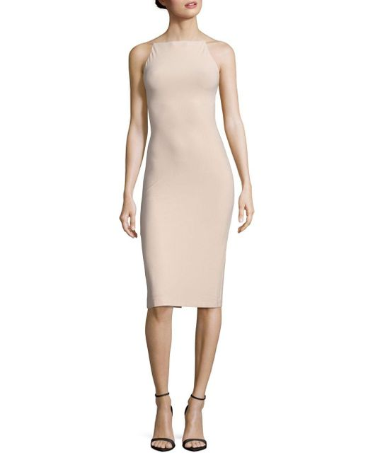 Alice + Olivia   Natural Kia Crisscross-sides Dress   Lyst
