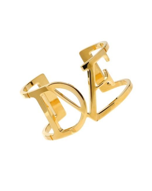 Diane von Furstenberg | Metallic Belle De Jour Goldtone Cutout Cuff Bracelet | Lyst