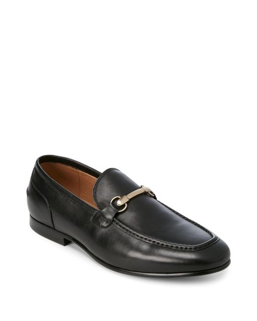 Saks Fifth Avenue | Black Firenze Leather Loafers for Men | Lyst