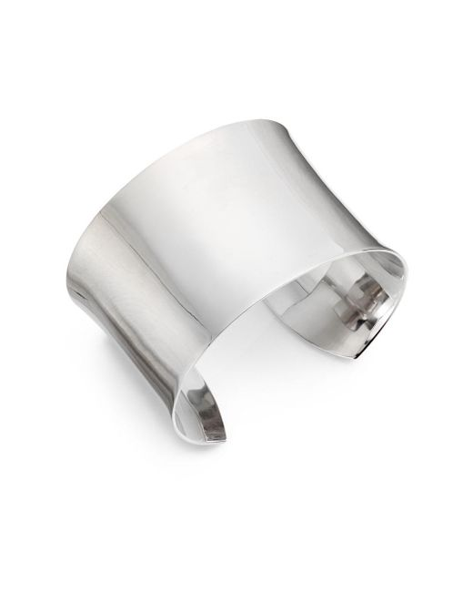 Saks Fifth Avenue | Metallic Sterling Silver Cuff | Lyst