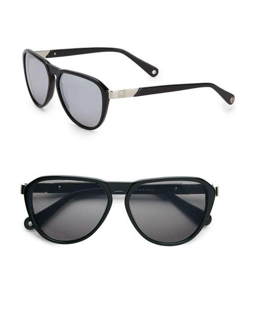 Sperry Top-Sider   Black Concord Teardrop Sunglasses   Lyst