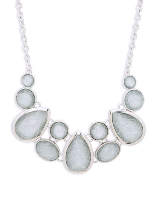 Carol Dauplaise | Metallic Faceted Chain Necklace | Lyst