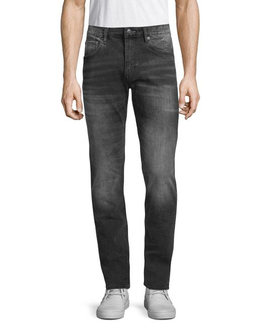Vigoss - Black Classic Slim-fit Jeans for Men - Lyst