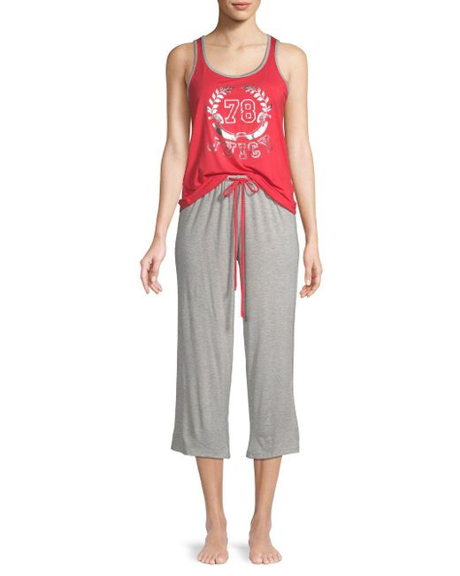 Juicy Couture - Multicolor Two-piece Graphic Tank Top And Pants Set - Lyst