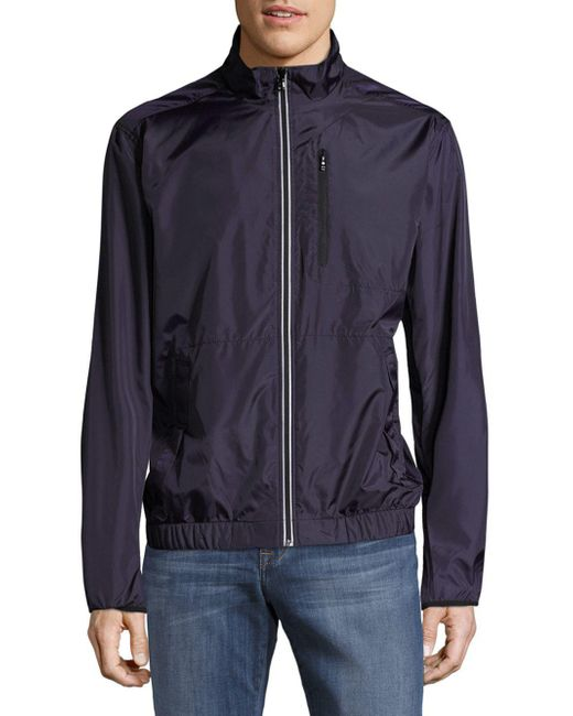 Victorinox | Blue Reflective Jacket for Men | Lyst