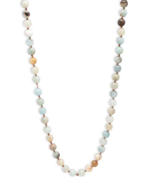 Cara | Metallic Beaded Necklace | Lyst
